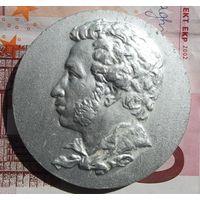 Настольная медаль Пушкин