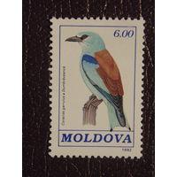 Молдавия 1992г. Птицы