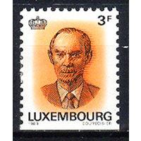 1989 Люксембург. 25-летие правления великого князя Жана