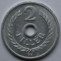 Венгрия, 2 филлера 1963 г