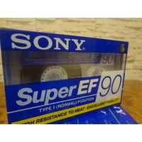 Кассета новая SONY Super EF-90