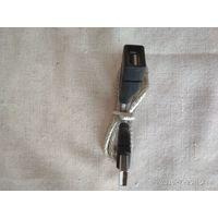 Переходник-кабель в металлической оплетке новый