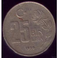 25 000 Лир 1999 год Турция