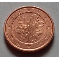 1 евроцент, Германия 2005 J