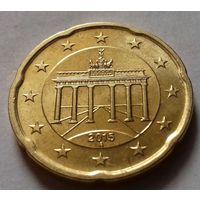 20 евроцентов, Германия 2015 А, UNC