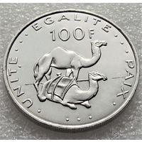 Джибути. 100 франков 2004 год КМ#26