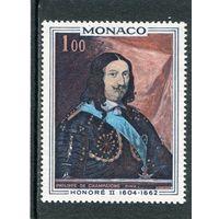 Монако. Оноре II, князь Монако. Живопись. Художник Филипп ву Шампань