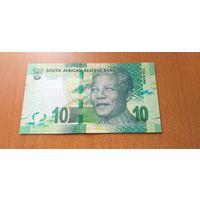 Южная Африка 10 рандов 2015 года UNC