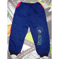 Тёплые спортивные штаны 92-98
