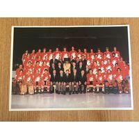 Фото Хоккей Канада 1981