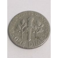 1 дайм США 1966