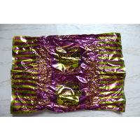Фантик от конфеты -- Миндаль в шоколаде. Капучино. Драже. (Беларусь, Брест, Идеал).