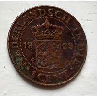 Голландская Ост-Индия 1 цент, 1929  2-2-10