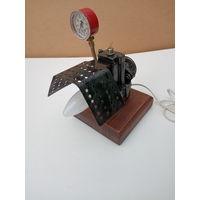 Светильник ночник в стиле дизельпанк стимпанк индастриал лофт