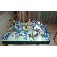 Коллекция драконов из 15 штук