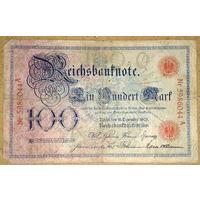 100 марок 1905г -редкая-