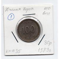 100 вон Южная Корея 1983 года (#1)