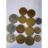 Монеты Украины.