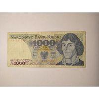 1000 злотых 1982 г.
