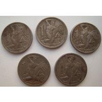 Чехословакия 1 крона 1946 г. Цена за 1 шт. (a)