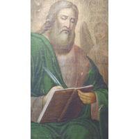 Апостол Матвей -старинная икона- (1830 - 1870) - *65х90см/ холст/масло
