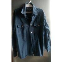Рубашка джинсовая на рост 146 см