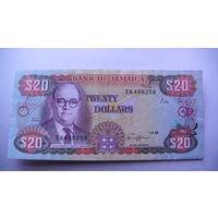 Ямайка 20 долларов 1989г.    распродажа