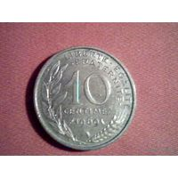 Франция 10 сантимов 1969г. распродажа