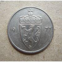 Норвегия 50 эре 1977