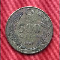 76-30 Турция, 500 лир 1989 г.