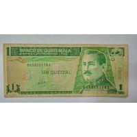 Гватемала 1 Кетцаль 1996