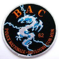 Шеврон 62-ой Бригады по борьбе с преступностью национальной полиции г.Булонь-сюр-Мер Франции.(Brigade anti-criminalite (BAC), распродажа коллекции