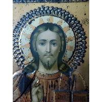 Икона Старинная Господь Вседержитель не с рубля Аукцион 3Дня