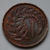 Новая Зеландия, 1 цент 1975 г.