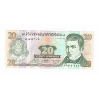 20лемпир 2006 года Гондураса