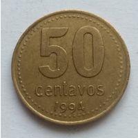 Аргентина, 50 сентаво 1994 год