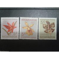 Никарагуа 1962 орхидеи
