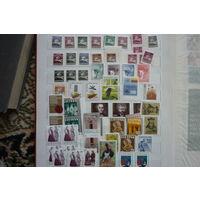 Первые современные марки Литвы 1991 .