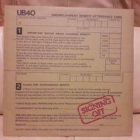 UB 40 - 1980 - SIGNING OFF, (ITALY), 2LP