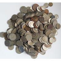 Монеты СССР , 621 штук ( 1.5 кг )