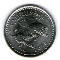 Сомалиленд 10 шиллингов 2006 года.Телец.