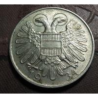 1 шиллинг 1934г. Австрия