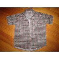 Рубашка мужская. 100% шелк