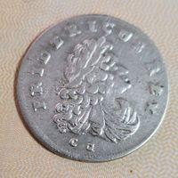 6 грошей 1709 г.   Пруссия..Фридрих 3.. неплохая!!!