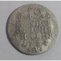 Пруссия, 1/12 талера 1764 г.,2  (А);