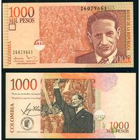 Колумбия 1000 песо 2016 UNC