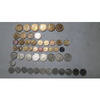 Монеты разных стран и времён