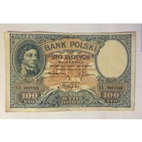 100 злотых 1919 год