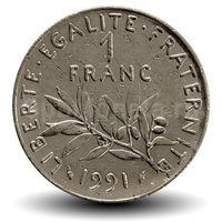1 франк Франция
