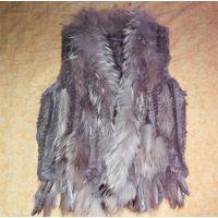 Натуральная меховая жилетка
